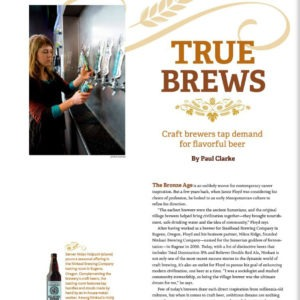 Ninkasi Beer, for Alaska Airlines Magazine