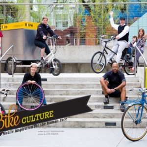 Oregon's Bike Culture, for 1859 Magazine Spring 2013