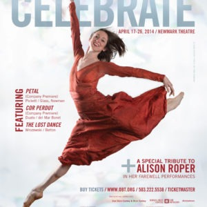 Oregon Ballet Theatre Celebrate Playbill, 2014