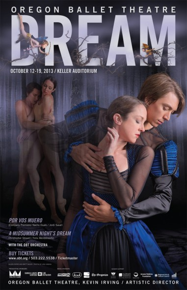 Oregon Ballet Theater Dream Poster
