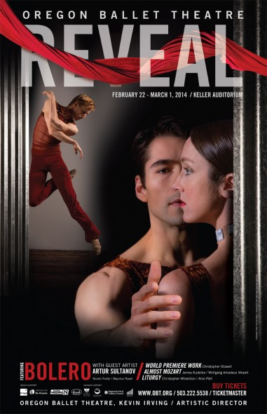 Oregon Ballet Theatre Reveal Poster