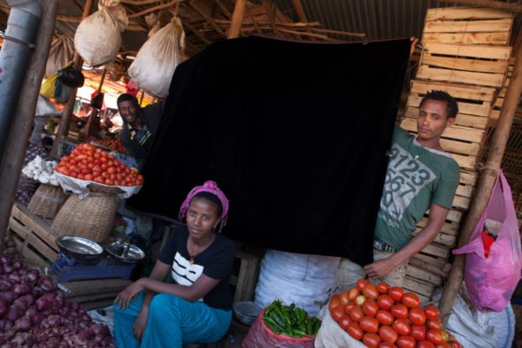 Behind the scenes of the Market Workers series: Bahir Dar, Ethiopia