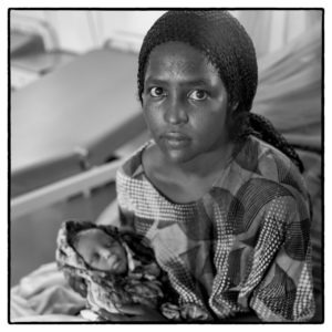 Afar Young Mother
