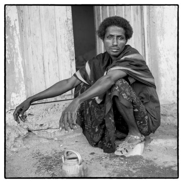 Afar Man At Hospital