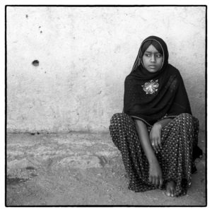 Young Afar Girl At Home