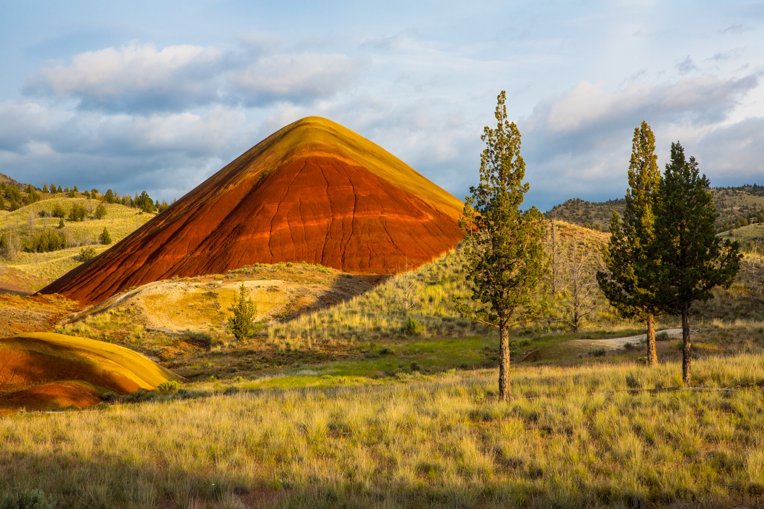 painted hills oregon how to get there