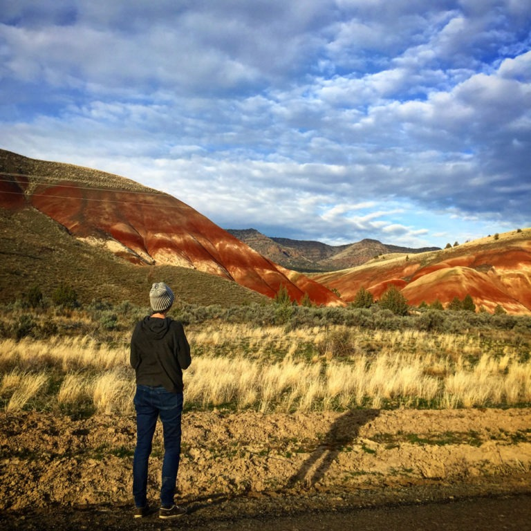 Mary at Painted Hills