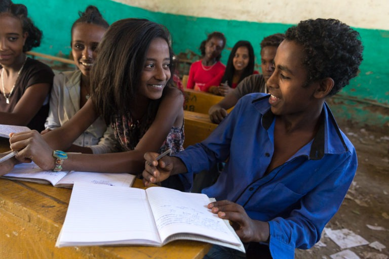 Ethiopian students Dignity Period
